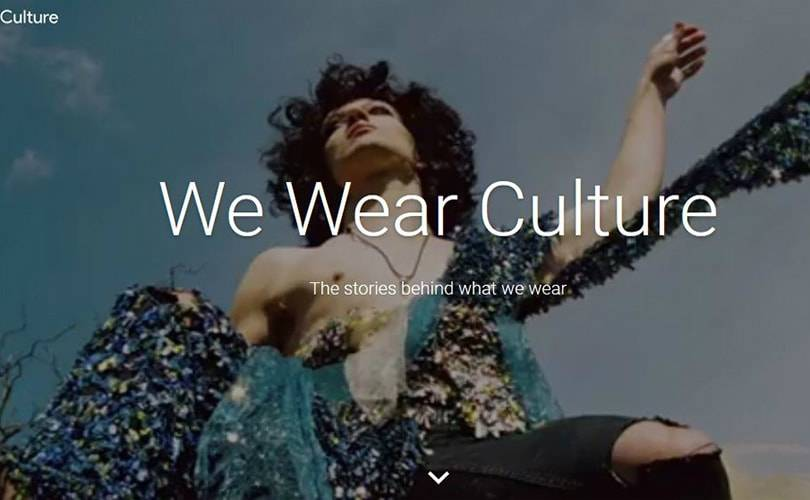 Google We Wear Culture : 3000 ans de mode