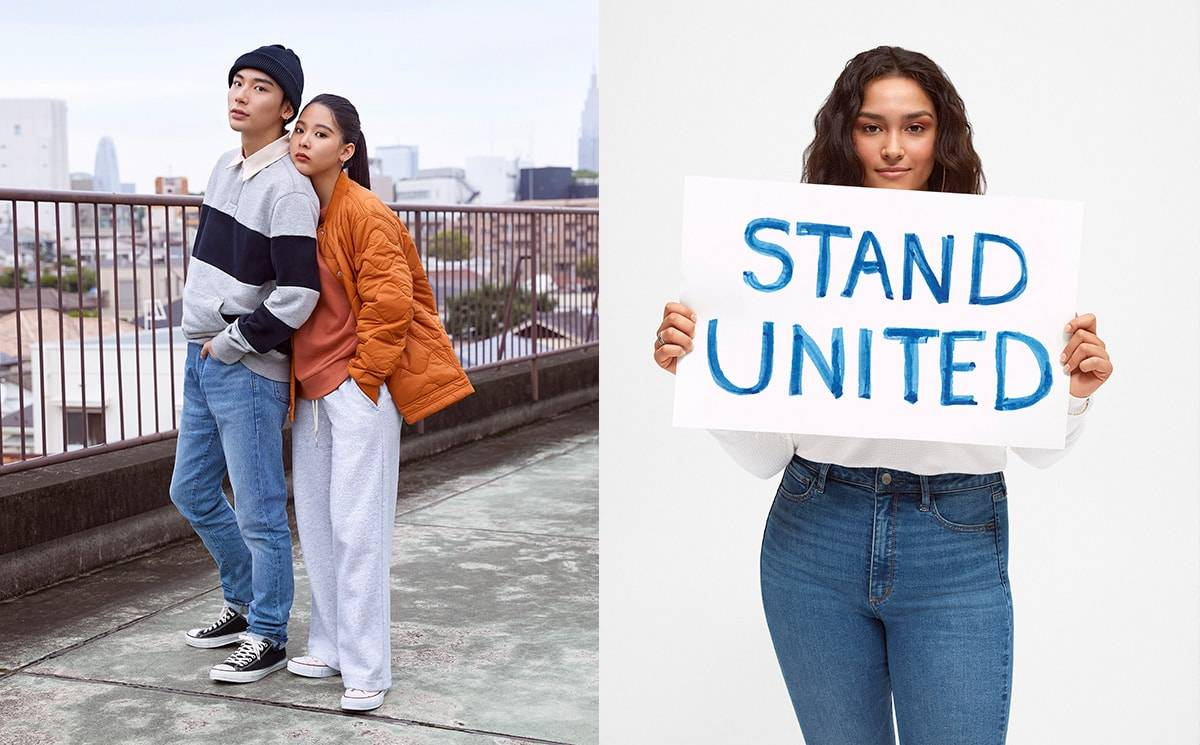 GAP lance sa campagne Automne 'STAND UNITED'