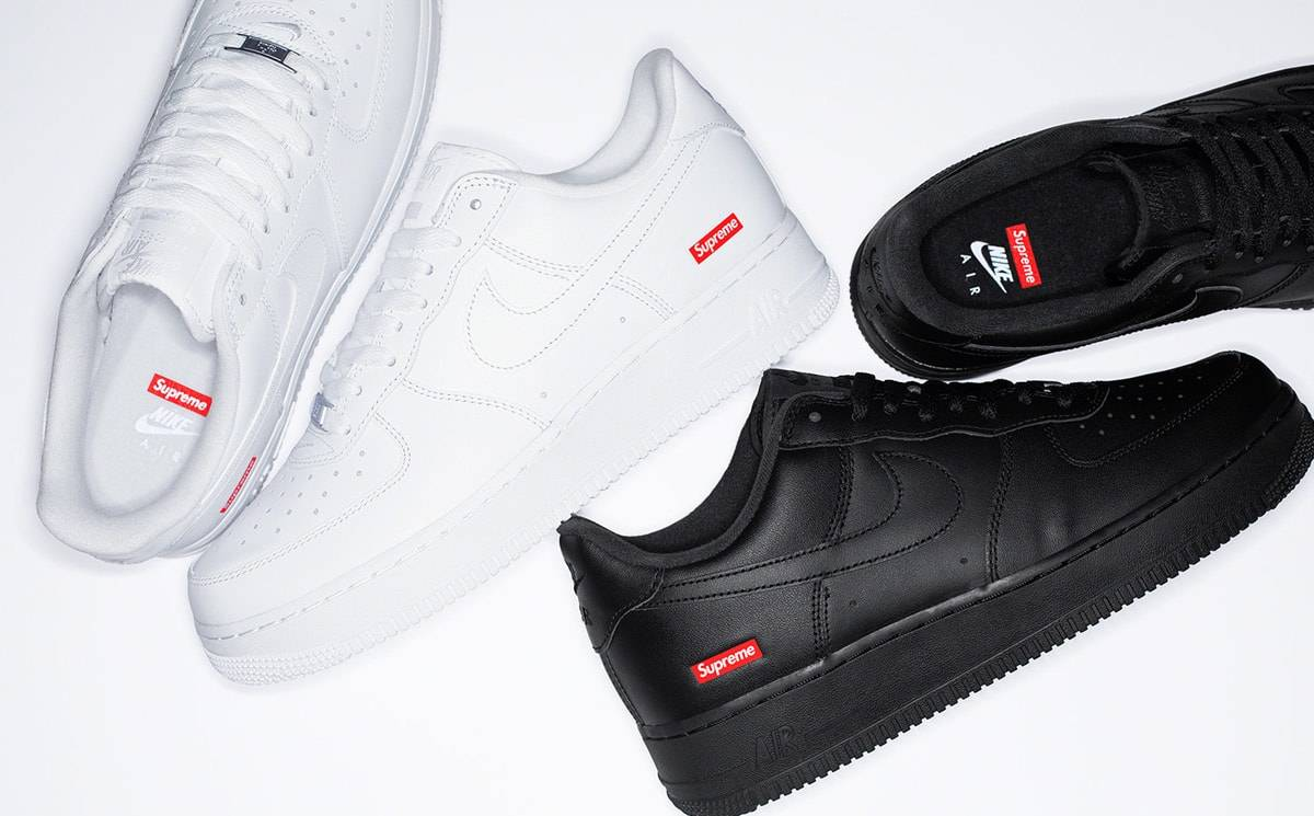 La sneaker Nike Air Force 1 Low revisitée par Supreme