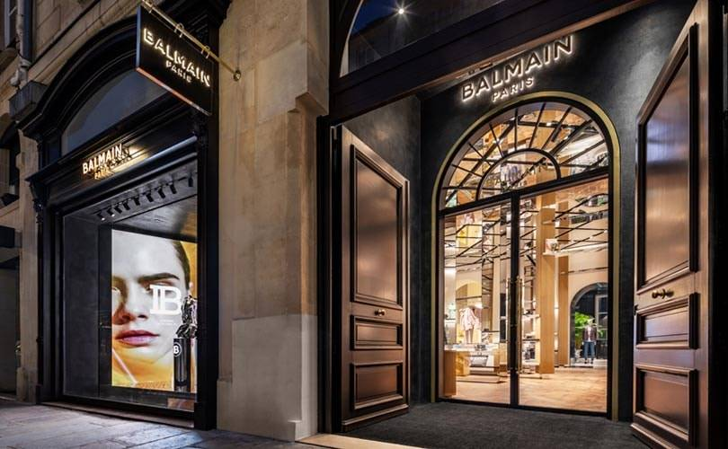 En images : Balmain, le plus grandiose des flagships est à Paris