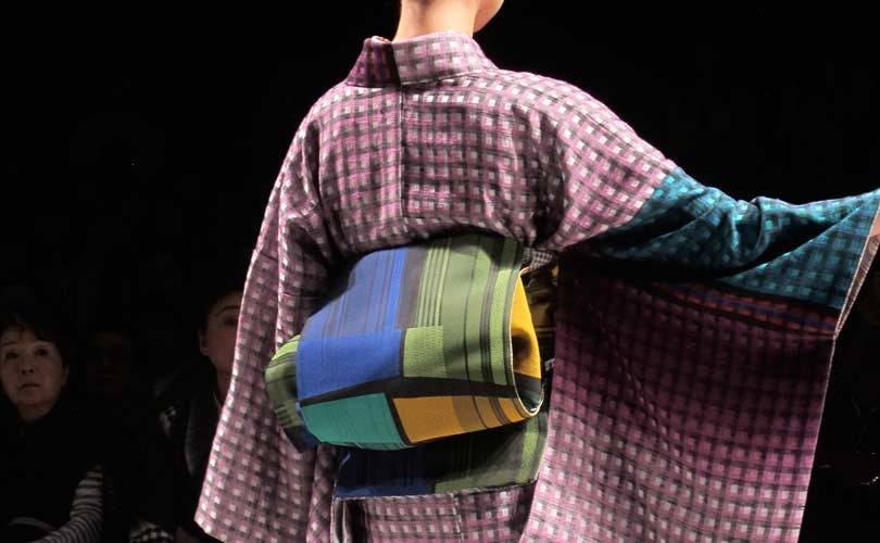 Japon: le kimono revu façon rock 'n' roll à la Fashion week