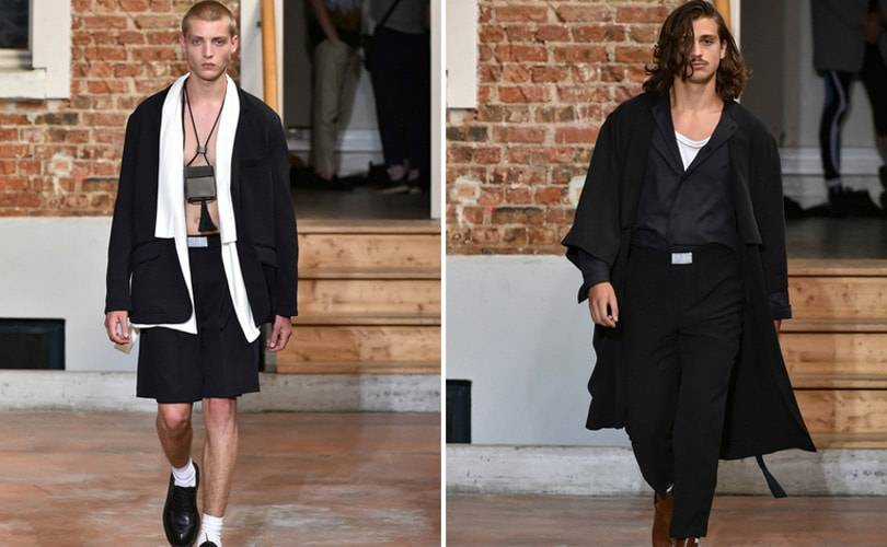 LGN, Louis Gabriel Nouchi - The golden Pavilion : Fashion Week Paris Homme printemps-été 2019