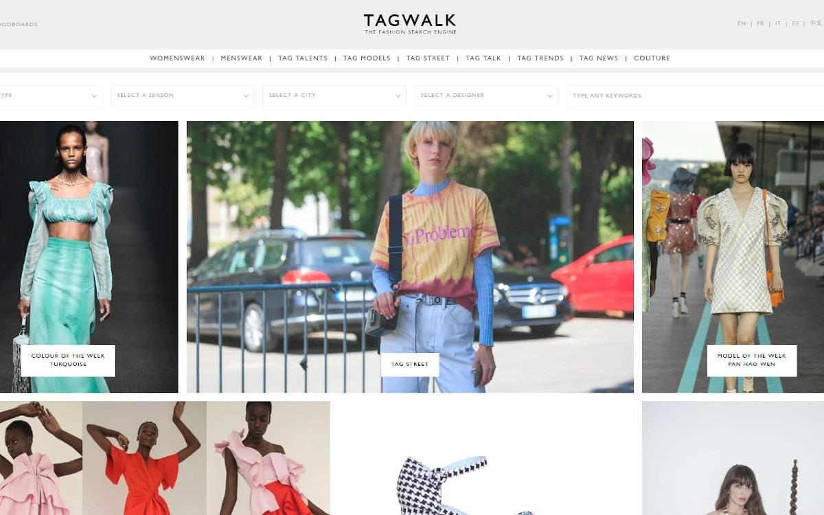 tagwalk : Toute l'actualité