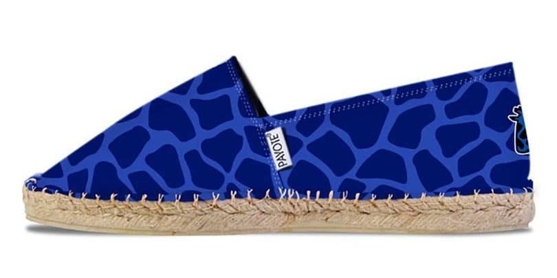 Payote s'associe avec le Girafon Bleu le temps d'une espadrille