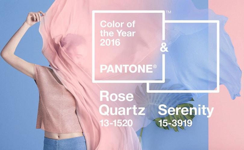 Les couleurs Pantone 2016: le
