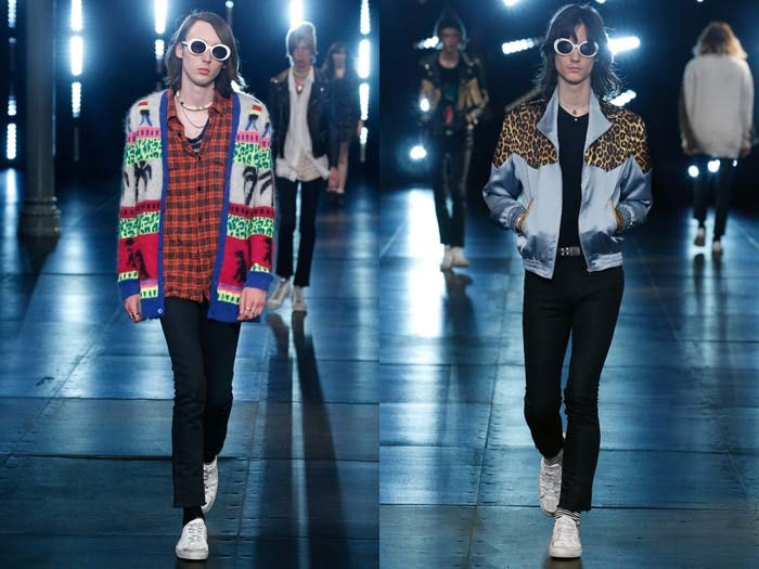 Paris Fashion Week: le grunge chic de Saint Laurent, l'élégance sombre de Lanvin