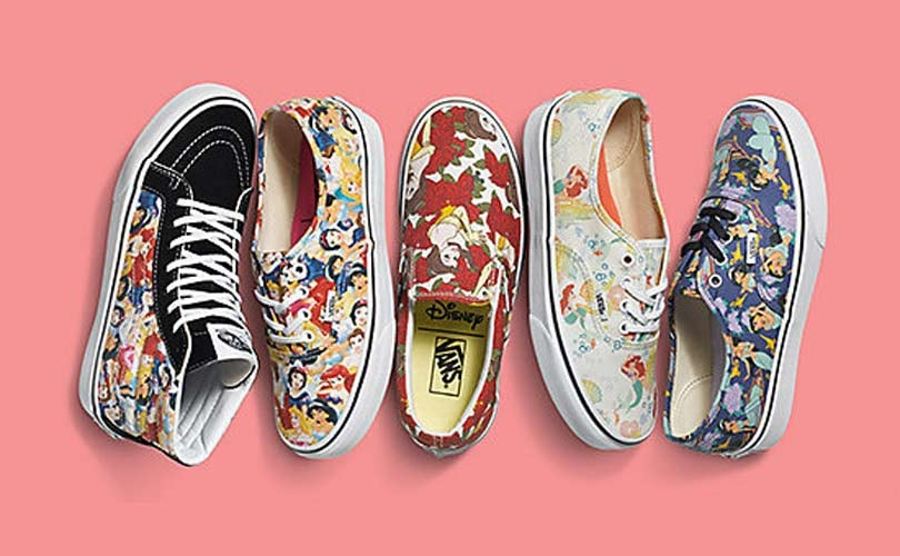 Vans lance une collection Disney Princess
