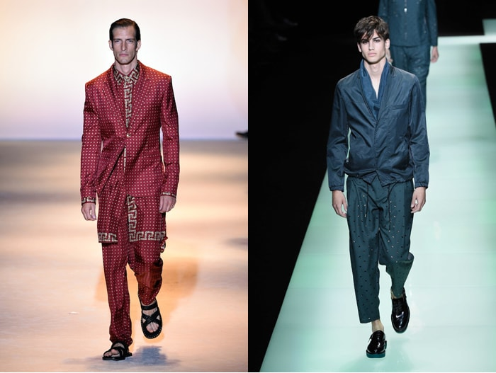 Fashion Week masculine à Milan: transparences et chinoiseries