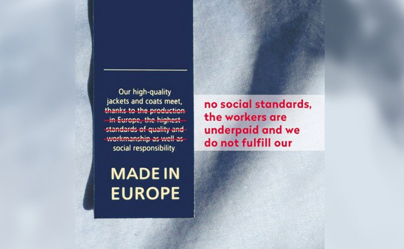 Le label Made in Europe, pas si éthique