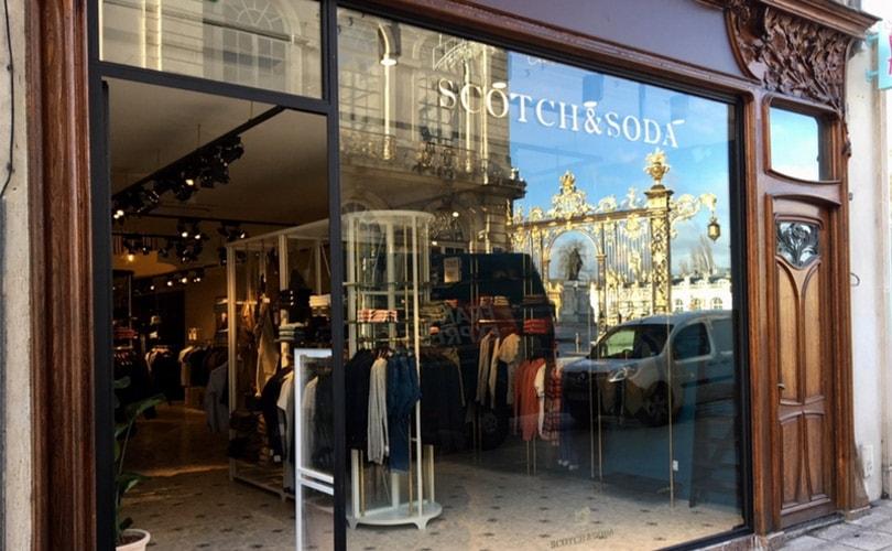 Scotch and Soda, la célèbre marque d'Amsterdam, a ouvert à Nancy