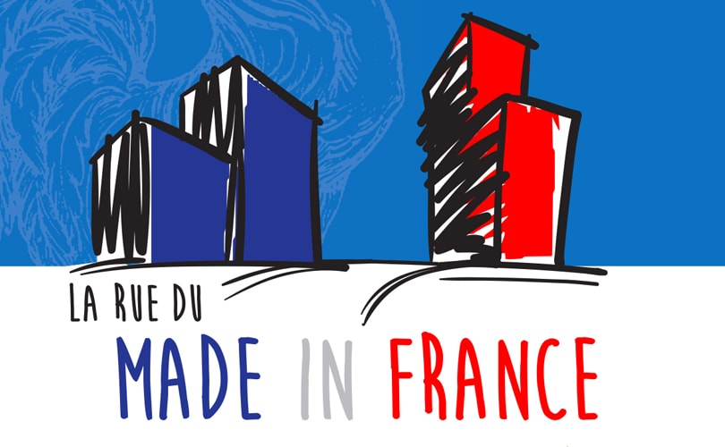 Le Made in France s'offre une rue à Paris