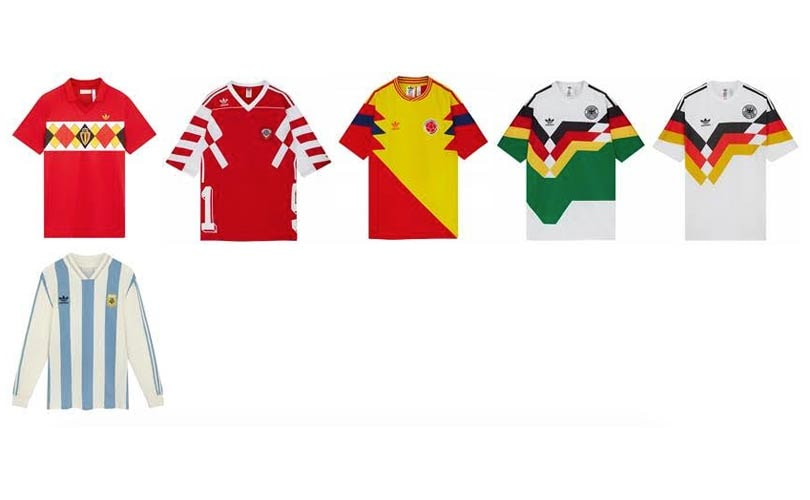 La collection Adidas Originals Retro Football disponible sur Asos.fr