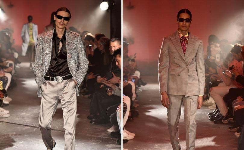 Défilé SSS World Corp, fashion week Paris homme printemps-été 2019
