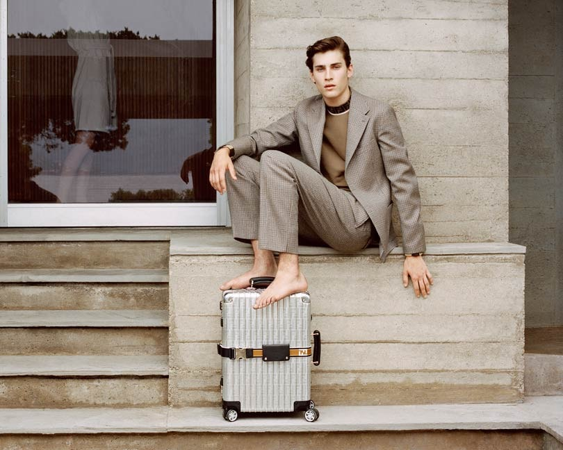 Fendi poursuit sa collaboration avec Rimowa