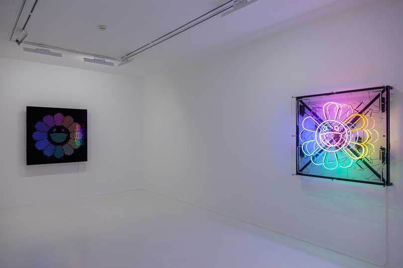 Exposition Murakami & Abloh - Technicolor 2, Gagosian Paris