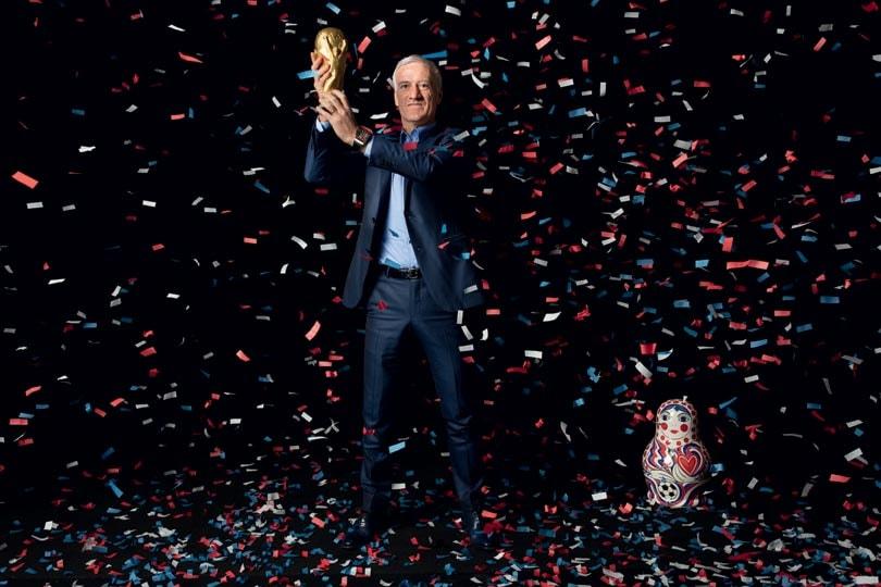 5e1299f1e70 Coupe du monde 2018   les fans assaillent la boutique Nike des  Champs-Elysées