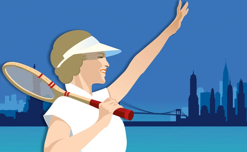 ae700a42026 Lacoste à bord du Queen Mary 2 pour l US Open 2018