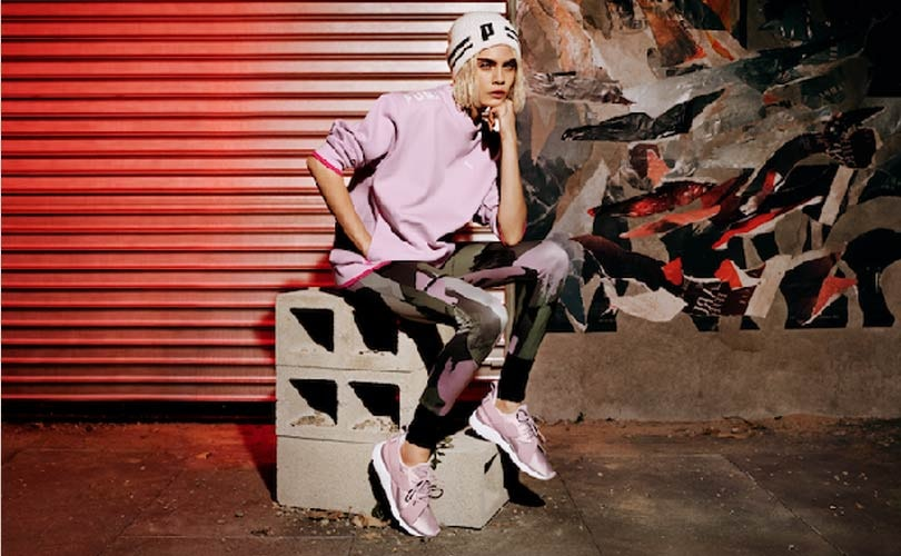 puma cara delevingne collection