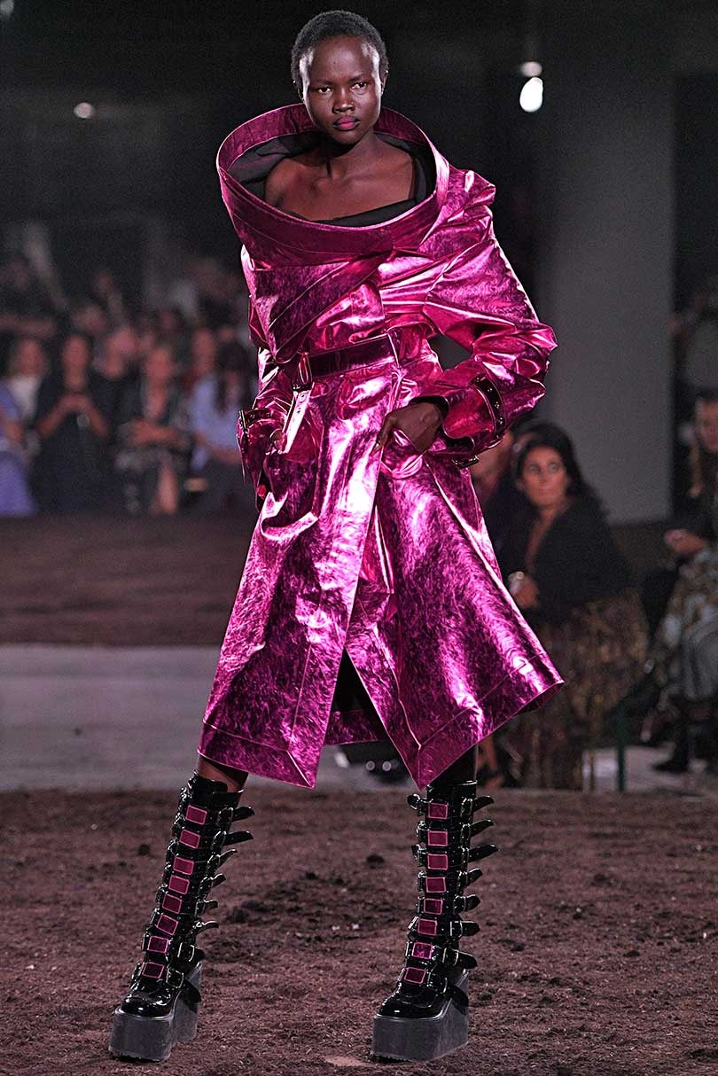 Fashion Week de Londres: Gareth Pugh en mode dystopique