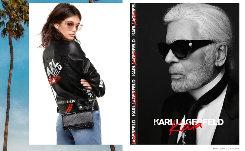 Lancement officiel de la collection «KARL LAGERFELD X KAIA»