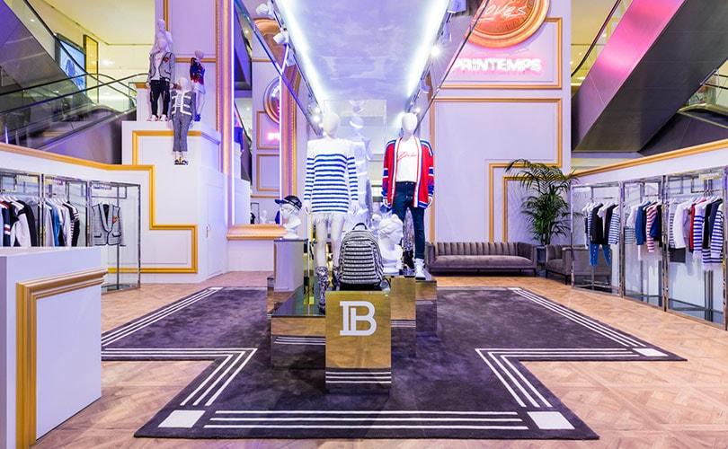 Dévoile Un Store Printemps Au Balmain Haussmann Pop Up b7f6gyY