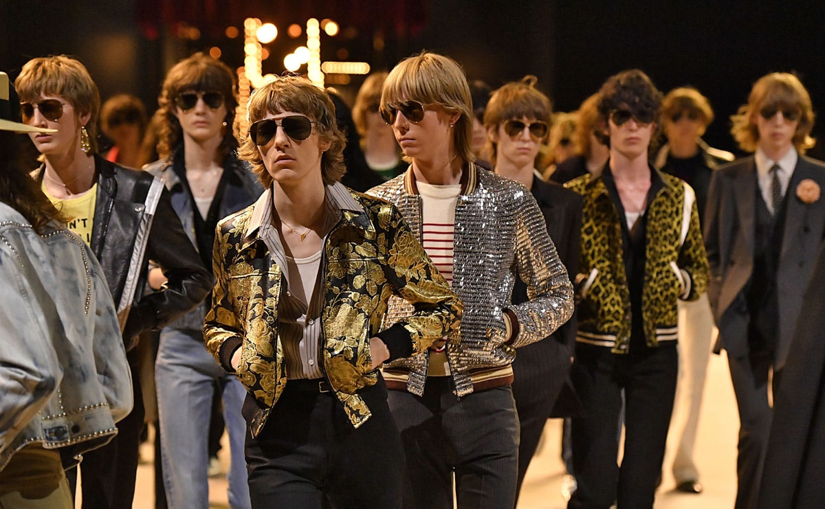 Paris Fashion Week Homme : nostalgie seventies chez Celine, Lanvin en vacances