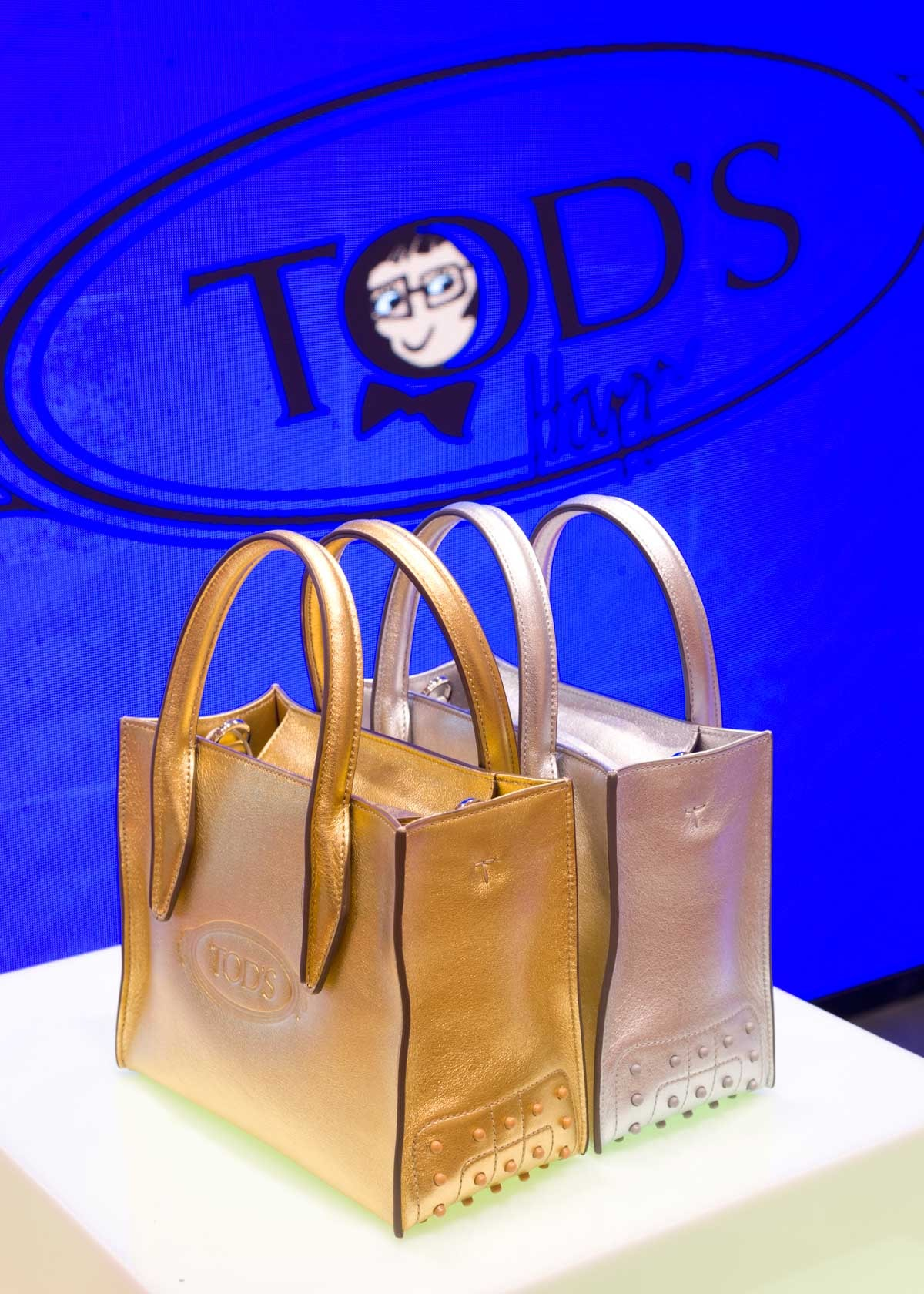 Le pop-up de la collaboration Alber Elbaz x Tod's aux Galeries Lafayette