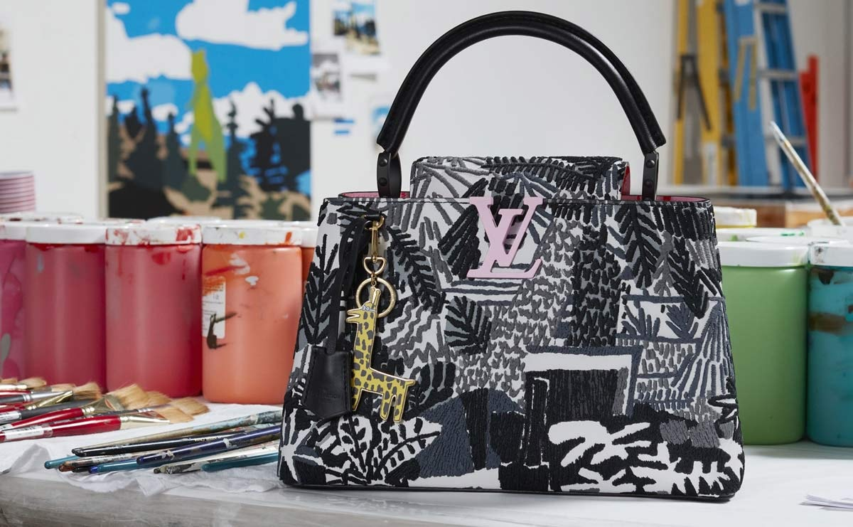 Louis Vuitton : une nouvelle collaboration avec l'artiste Jonas Wood