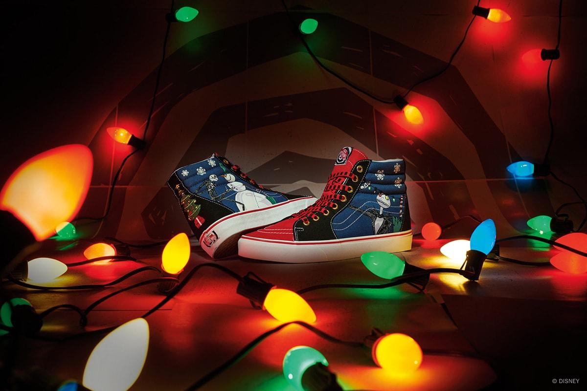 Pour les fêtes, Vans s'inspire de « L'étrange Noël de