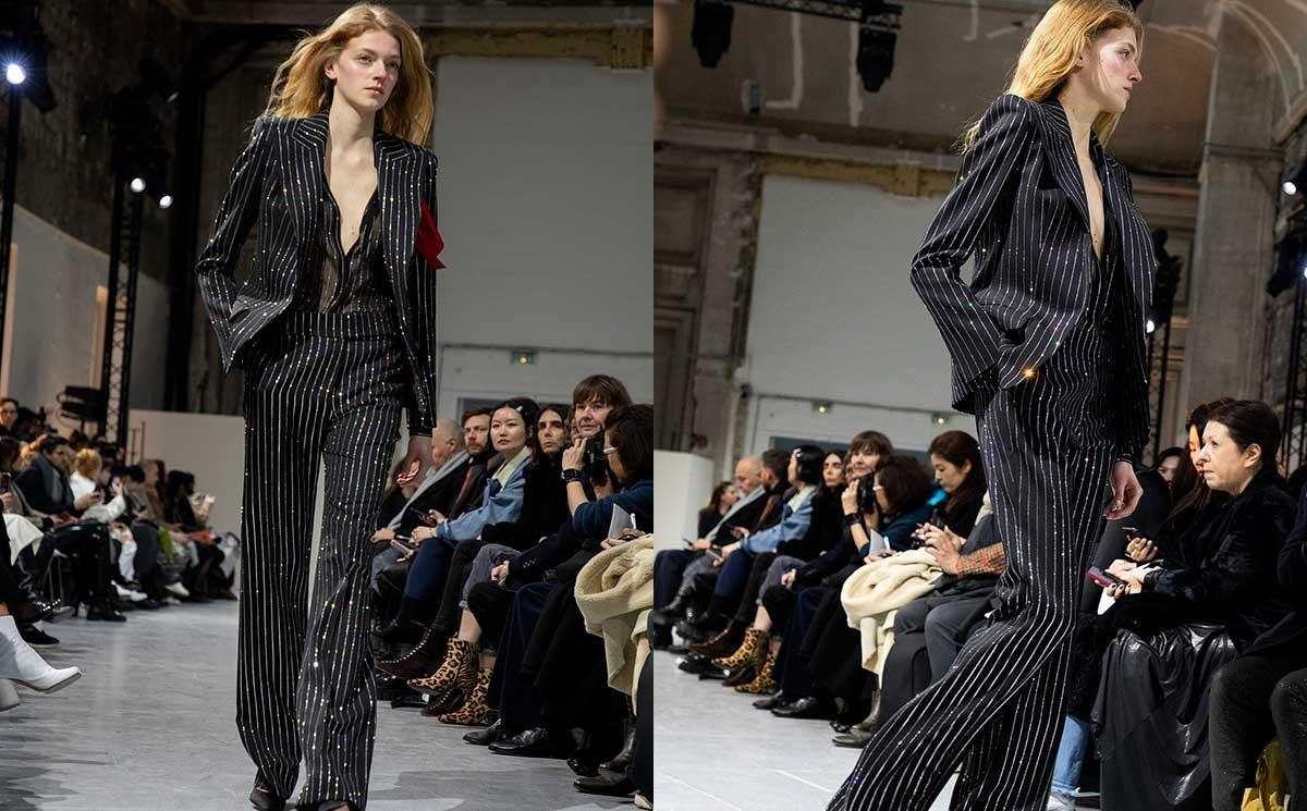 Pour son défilé haute couture, Alexandre Vauthier collabore avec Swarovski