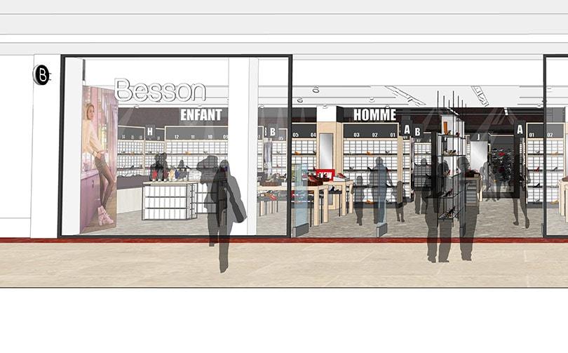 Besson Chaussures annonce l'ouverture d'un nouveau magasin