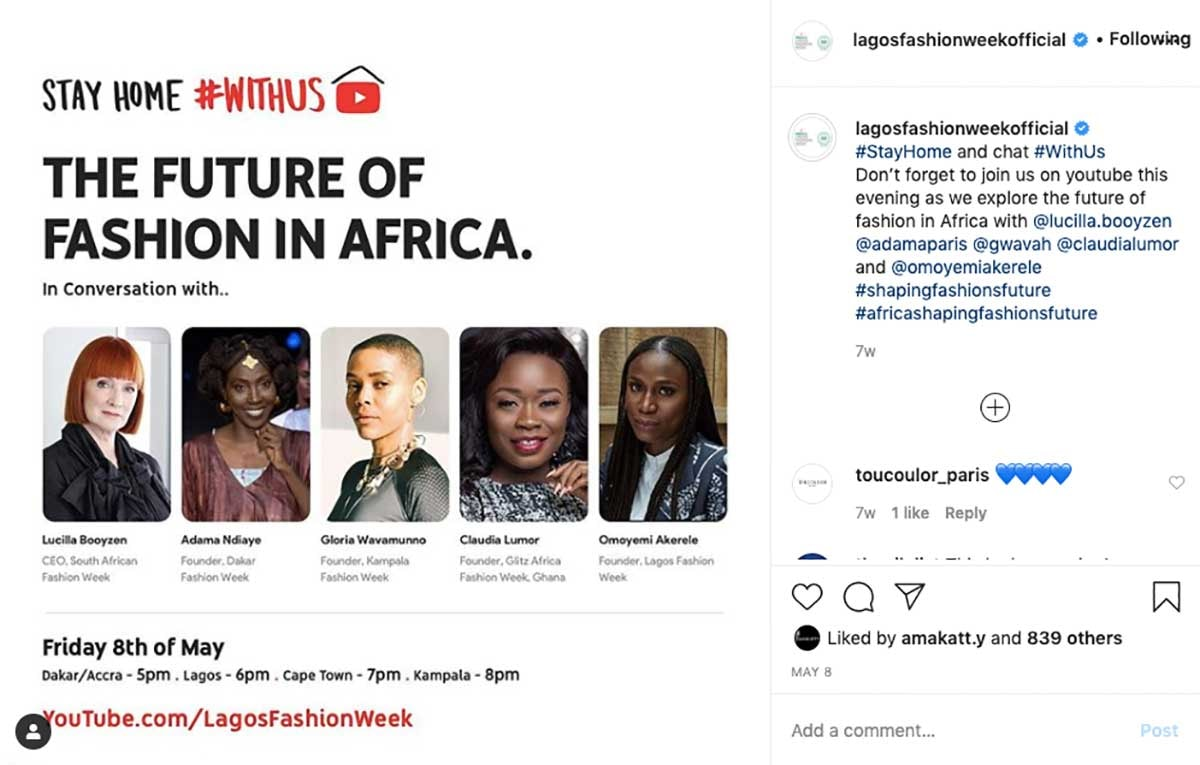 Post-covid fashion: What's in store for Africa?