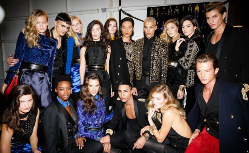 Le lancement de la collection Balmain x H&M célébré à New York‏