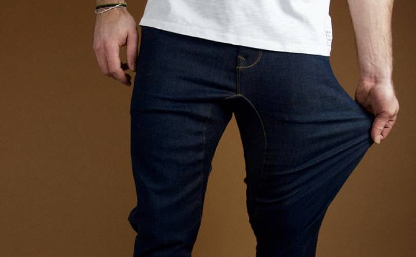 Dening : le denim hautement extensible par Pullin